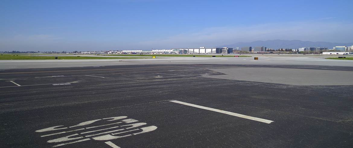 A view of SJC from my hangar.